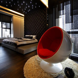 Ball Chair, Red -