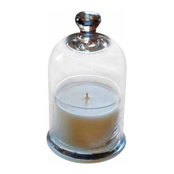 Lavender Bell Jar Candle - Allow the comfort of lavender to calm the senses and bring serenity to any room. You can transform your atmosphere with this Bell Jar Candle.
