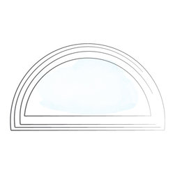 Ultra Series Radius Windows - Kolbe makes radius windows in stand-alone full circles, half-circles, quarter-circles, elliptical, ovals and custom shapes. Half-circle or elliptical windows can be stacked over other Kolbe windows and doors to create larger window walls. Use circular units to illuminate cozy spaces and fit into small areas. We build our radius windows to order so that their profiles match those of the windows they complement.