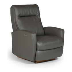 Recliners - Costilla living room recliner available at Indoor & Out Furniture in Chandler, Arizona. Available in: Performa blend/leather/vinyl or leather/vinyl