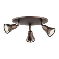 Trans Globe Lighting - Trans Globe Lighting W-490 ROB Track Light In Rubbed Oil Bronze - Part Number: W-490 ROB