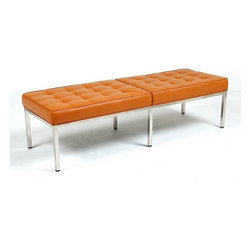 Modern Classics - Florence Knoll: 60 inch Bench Reproduction - Features: