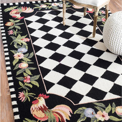 Checkered Black And White Rug Rugs Find Area Rugs