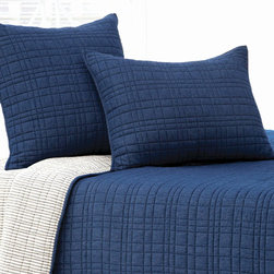 Pine Cone Hill - calhoun quilt - Designed in the Berkshires of Massachusetts, every item from the pine cone hill bedding collection has been tailored from high quality imported textiles in a variety of versatile neutrals, vibrant hues and engaging patterns. Choose from textiles that weave a complementary theme throughout your entire bedroom and beyond. Many patterns and colors are available in blankets, duvets. throws, decorative pillows, shams and bed skirts.