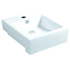 contemporary bathroom sinks by Overstock