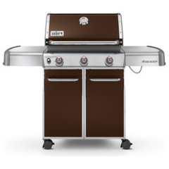 Shop Weber Genesis E-310 Espresso 3-Burner Gas Grill at Lowes.com