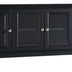 "Crosley - Cambridge 60"" Low Profile TV Stand - Dimensions:  18 x 59.8 x 21 inches"