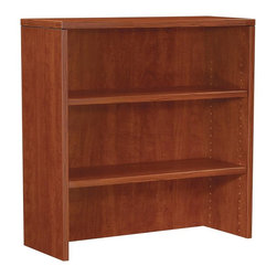 OSP Furniture - Napa 36 in. Open Hutch in Cherry Finish - Commercial grade. Scratch resistant and textured thermally fused laminate surfaces. Non handed. Sturdy 1.13 in. top with tri-groove edge design. Impact resistant 3mm PVC edges. GREENGUARD Indoor Air Quality Certified. Warranty: Ten years. Made from wood. Assembly required. 36 in. W x 14 in. D x 36 in. H (77 lbs.). Assembly InstructionNapa is built to support todays businesses with solutions for offices, conference and reception areas that provide long-lasting furnishings value. From the executive and managers offices, to multi-person configurations.