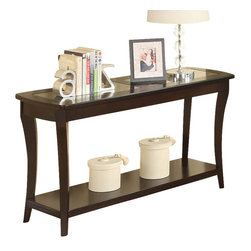 Riverside Furniture - Riverside Furniture Annandale Sofa Table in Dark Mahogany - Riverside Furniture - Console Tables - 12415 -The Arkansas River Valley is home of majestic forests, ruggedly beautiful mountains, gurgling brooks and swiftly flowing rivers. It is also the home of Riverside Furniture Corporation. But like they would with any old friend, most folks refer to us just by our first name.