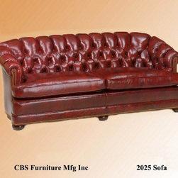 CBS - Leather Tufted Sofa 2025 - CBS 2025 Sofa
