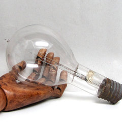 eclectic light bulbs by Etsy