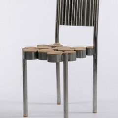 contemporary dining chairs and benches by Bouf