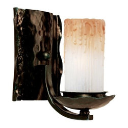 Maxim Lighting - Notredame Wall Sconce by Maxim Lighting - The Maxim Lighting Notredame Wall Sconce accentuates the interior of your home with its a spell of radiance while its candle shade will add an archaic look to your decor. The Notredame Wall Sconce features Wlishire glass shade and Oil Rubbed Bronze finish.Maxim Lighting, headquartered in California, offers high-quality lighting fixtures in a variety of designs, finishes, and glass styles that complement contemporary and transitional interiors.The Maxim Lighting Notredame Wall Sconce is available with the following:Included Features:One candle-shaped, Wlishire glass shade.Metal body.Oil Rubbed Bronze finish.One wall plate.UL Listed for dry locations.Lighting: One 60 Watt 120 Volt Candelabra Base Incandescent lamp (not included).Shipping:This item usually ships within 3-5 business days.