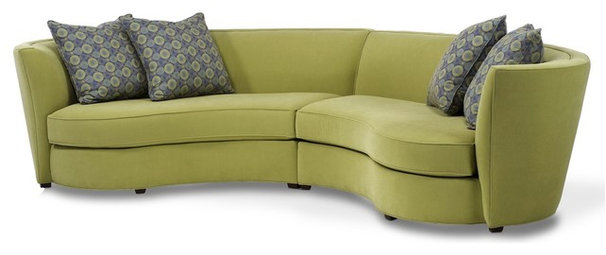 Eclectic Sectional Sofas by Designing Solutions