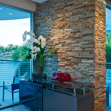 Contemporary Home Improvement by Natural Stone Veneers International, Inc.