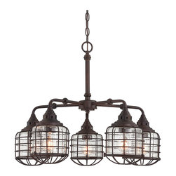Savoy House - Savoy House 1-571-5-13 Connell English Bronze 5 Light Chandelier - Savoy House 1-571-5-13 Connell English Bronze 5 Light Chandelier