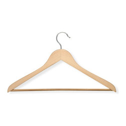 Honey Can Do - Honey Can Do Wood Suit Hanger - Maple - Set of 10 - HNG-01366 - Shop for Clothing Hangers from Hayneedle.com! About Honey-Can-DoHeadquartered in Chicago Honey-Can-Do is dedicated to helping you organize your life. They understand that you need storage solutions that are stylish and affordable at the same time. Honey-Can-Do focuses on current design trends and colors to create products that fit your decor tastes while simultaneously concentrating on exceptional quality. When buying a Honey-Can-Do product you can be sure you are purchasing a piece that has met safety control standards and social compliance methods.