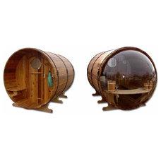 Modern Saunas by Barrel Enterprises