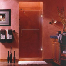Eclectic Shower Stalls And Kits by SGO Designer Glass