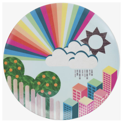 Contemporary Plates by Habitat