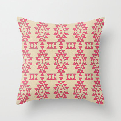 Contemporary Decorative Pillows by Society6