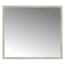 "Posters 2 Prints, LLC - 64"" x 57"" Libretto Antique Silver Custom Framed Mirror - 64"" x 57"" Custom Framed Mirror made by Posters 2 Prints. Standard glass with unrivaled selection of crafted mirror frames.  Protected with category II safety backing to keep glass fragments together should the mirror be accidentally broken.  Safe arrival guaranteed.  Made in the United States of America"