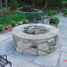 Traditional Patio by Steve's Lawn & Landscaping