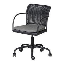 Andrew Shove - GREGOR Swivel chair - Swivel chair, black, gray