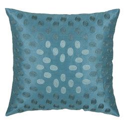 """Rizzy - Rizzy T03604 Pillow, 18"""" x 18"""" - Pillow with Hidden Zipper"""