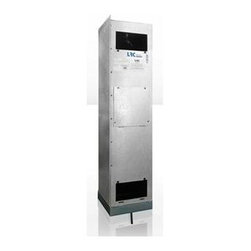 Vinotemp - Wine-Mate Split Wine Cellar Cooling System - Floor standing. Coverage size: 1000 cubic feet or approximately 4500 bottles. Custom made: 2 to 3 weeks lead time. Outdoor enclosure with condensing unitFan coil: . 115V / 60Hz, .77A. Evaporator: 11.38 W x 11.25 in. D x 48.5 H (59 lbs.)Condensing unit: . 115V / 60Hz, 6.9A. Condenser: 19.88 W x 12.13 in. D x 14.38 in. H (60 lbs.). Warranty. Owners_Manual. Instruction ManualThis split system, the condensing unit can be placed up to 50 feet away from the fan coil to allow for extremely quiet operation. SSV cooling systems are designed to be rack mounted, so you can easily install them inside a wine rack or between two ceiling joists. They are an ideal choice for small and medium wine rooms. Refrigeration technician is required for installation. Wine-Mate cooling systems are also perfect for storing fine fur, cigars, leather goods, chocolate and salami!