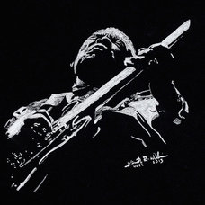 B.b. King Drawing by Kenneth Williams - B.b. King Fine Art Prints and Posters fo