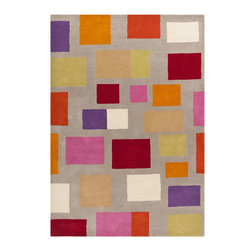 Surya - Surya Scion SCI-12 (Mossy Stone, Deep Rose) 8' x 11' Rug - This Hand Tufted rug would make a great addition to any room in the house. The plush feel and durability of this rug will make it a must for your home. Free Shipping - Quick Delivery - Satisfaction Guaranteed