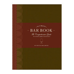 "Frontgate - Ultimate Bar Book - Includes recipes for garnishes, rims, infusions, syrups, punches, gelatin shooters, hot drinks, and non-alcoholic beverages. Features variations on classic recipes like the martini and bloody Mary, and a selection of hangover remedies. Hardcover book; 476 pages. A top-shelf must-have for every aspiring mixologist, our ""Ultimate Bar Book' serves up a comprehensive guide to over 1,000 cocktails. Learn how to mix classic creations and new drink recipes like the Tasmanian Twister Cocktail and the Citron Sparkler, as well as what barware and tools are needed for each.  .  .  ."