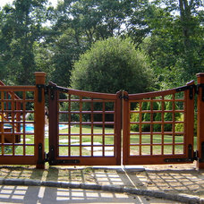 Traditional Home Fencing And Gates by usa fence