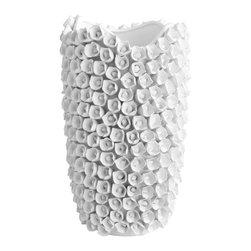 Uttermost - Cyan Design 06071 White Large White Rose Vase - Cyan Design 06071 White Large White Rose Vase