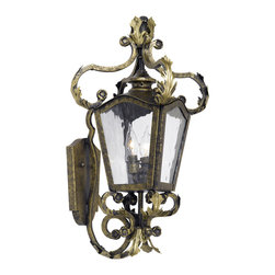 ARTISTIC - Elk Lighting Artistic 5780-CB Outdoor Wall Lantern French Quarter - Outdoor Wall Lantern French Quarter Collection In A Castle Bronze