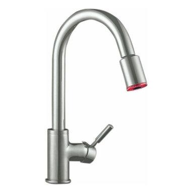 Artisan Manufacturing - Artisan Premium Pull-out Satin Nickel Faucet - AF-640-SN Artisan Manufacturing Premium Pull-out Satin Nickel Kitchen Faucet