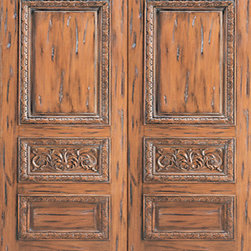 "Tuscany Style Carved Prehung Double Door, Solid Mahogany - SKU#    33-Tuscany_2Brand    AAWDoor Type    ExteriorManufacturer Collection    International Collection Exterior DoorsDoor Model    Door Material    WoodWoodgrain    MahoganyVeneer    Price    3020Door Size Options    2(30"") x Height"" (5'-0"" x 6'-8"")  $02(32"") x Height"" (5'-4"" x 6'-8"")  $02(36"") x Height"" (6'-0"" x 6'-8"")  +$602(42"") x Height"" (7'-0"" x 6'-8"")  +$3802(36"") x Height"" (6'-0"" x 7'-0"")  +$3802(30"") x Height"" (5'-0"" x 8'-0"")  +$6202(32"") x Height"" (5'-4"" x 8'-0"")  +$6202(36"") x Height"" (6'-0"" x 8'-0"")  +$6802(42"") x Height"" (7'-0"" x 8'-0"")  +$680Core Type    SolidDoor Style    Tuscan StyleDoor Lite Style    Door Panel Style    Hand Carved Panel , Raised Carved Moulding , 3 PanelHome Style Matching    Door Construction    Solid Stiles and RailsPrehanging Options    PrehungPrehung Configuration    Double DoorDoor Thickness (Inches)    1.75Glass Thickness (Inches)    Glass Type    Glass Caming    Glass Features    Glass Style    Glass Texture    Glass Obscurity    Door Features    Door Approvals    Door Finishes    Door Accessories    Weight (lbs)    850Crating Size    25"" (w)x 108"" (l)x 52"" (h)Lead Time    Slab Doors: 7 daysPrehung:14 daysPrefinished, PreHung:21 daysWarranty    1 Year Limited Manufacturer WarrantyHere you can download warranty PDF document."