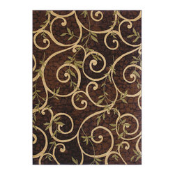 Shaw Industries, Inc - Cedar Key Rug in Brown -