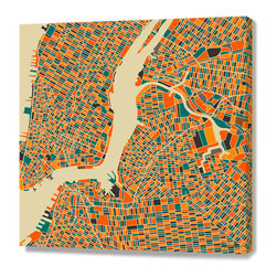 Curioos - New York, Stretched Canvas - Fine Art Stretched Canvas, Numbered and Signed (2014).