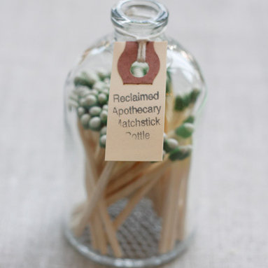 Apothecary Match Bottle -