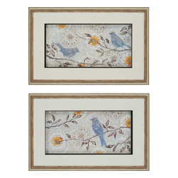 Paragon - Silverwood PK/2 - Framed Art - Each product is custom made upon order so there might be small variations from the picture displayed. No two pieces are exactly alike.