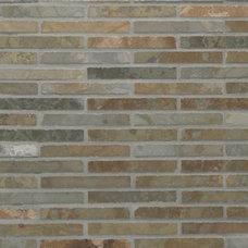 Traditional Floor Tiles Waterfall Mosaic Tiles