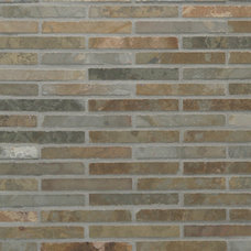Traditional Wall And Floor Tile Waterfall Mosaic Tiles