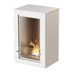 EcoSmart Fire - Citi - It's sleek, it's simple, it's sophisticated – and it's ideal for smaller spaces. The most compact of the Designer Range, the EcoSmart Fire Citi takes centre stage in a room or fits snugly in a corner. Being portable, this freestanding model can be moved from room to room.