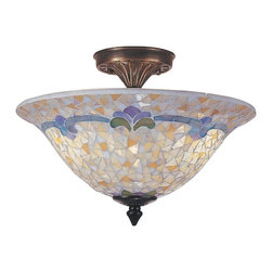 Dale Tiffany - New Dale Tiffany Ceiling Fixture Brass - Product Details