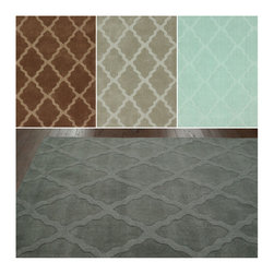 Nuloom - nuLOOM Handmade Moroccan Trellis Wool Rug (6' x 9') - Add subtle elegance to a room with this exquisite handmade wool rug. Made from Moroccan trellis wool using petit point stitching,the rug is a joy to walk on.