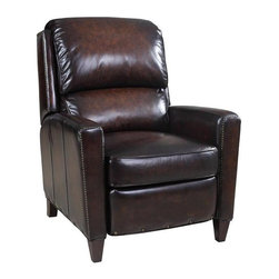 Hooker Furniture - Hooker Furniture Valor Chocolate Recliner - Developed by one of America's premier manufacturers to offer quality furniture at affordable prices. Each piece is meticulously hand-crafted using the most exquisite leathers in the world. The Valor Chocolate ReclinerCrafted using Valor Chocolate G/S leather.