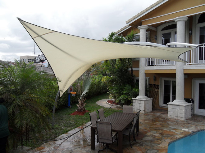 """Modern Outdoor Umbrellas """"The Element Squared"""""""