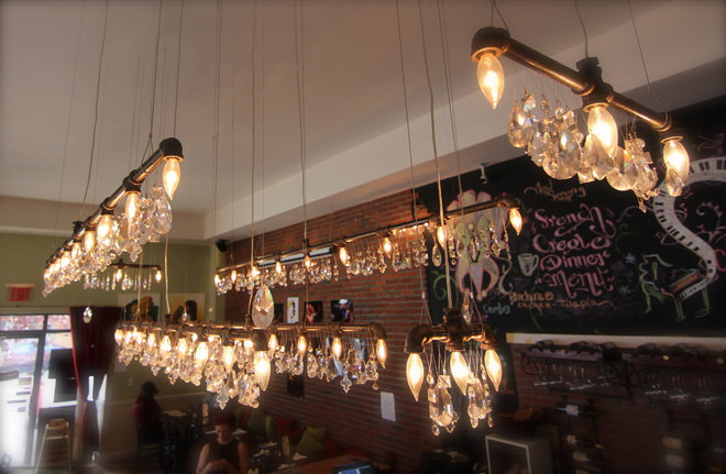 Industrial Chandeliers by Michael McHale Designs